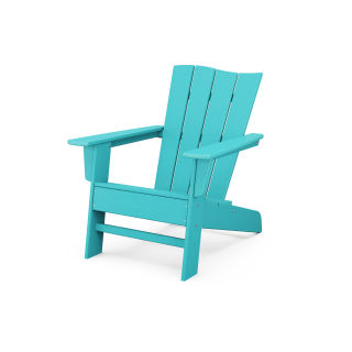 The Wave Chair Left in Vintage Finish
