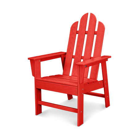 Long Island Dining Chair in Sunset Red