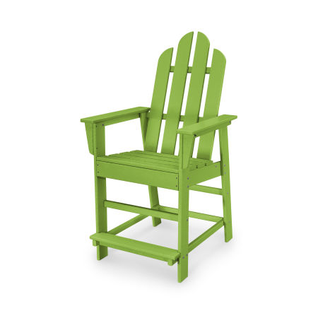Long Island Counter Chair in Lime