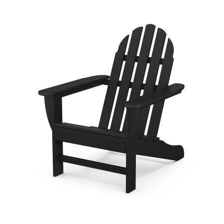 Classic Adirondack Chair in Black