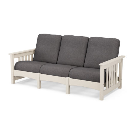 Mission Sofa in Sand / Ash Charcoal