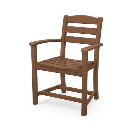 La Casa Café Dining Arm Chair in Teak