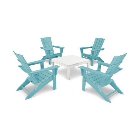 Quattro 5-Piece Conversation Set  in Aruba