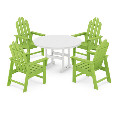 Long Island 5-Piece Dining Set in Lime
