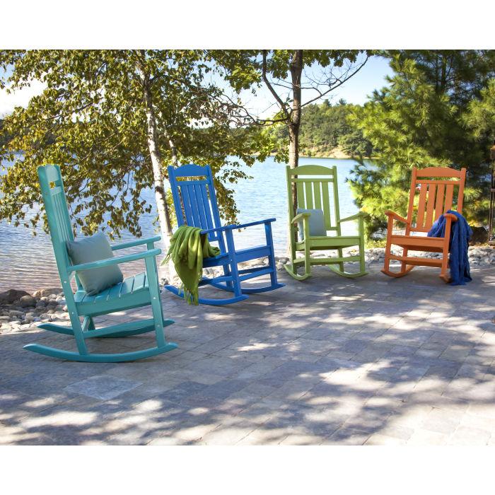 POLYWOOD R100AR Presidential Rocking Chair Aruba