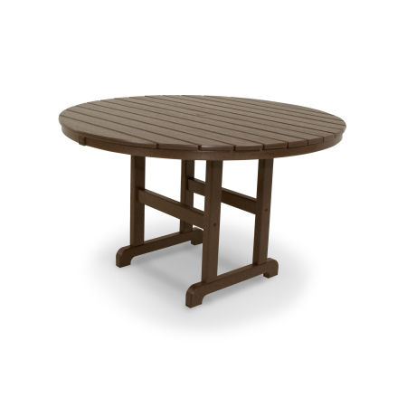 "Classics Round 48"" Dining Table in Mahogany"