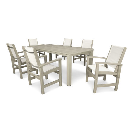 Coastal 7-Piece Harvest Dining Set