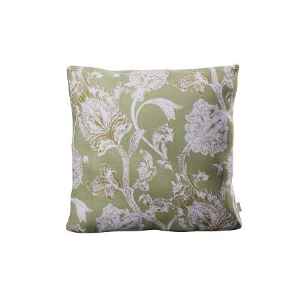 "22"" Throw Pillow in Botanical Gardens Pistachio"