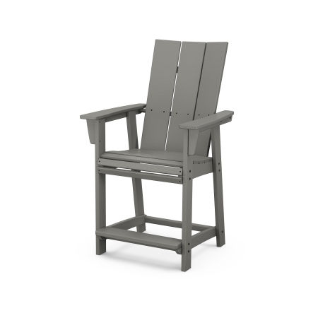 Modern Curveback Adirondack Counter Chair