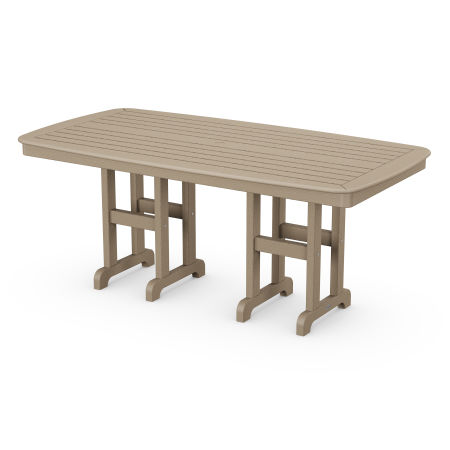 """Nautical 37"""" x 72"""" Dining Table in Vintage Sahara"""