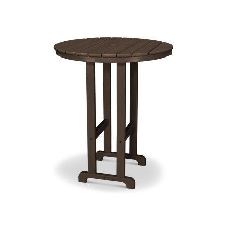 """Classics Round 36"""" Bar Table in Mahogany"""