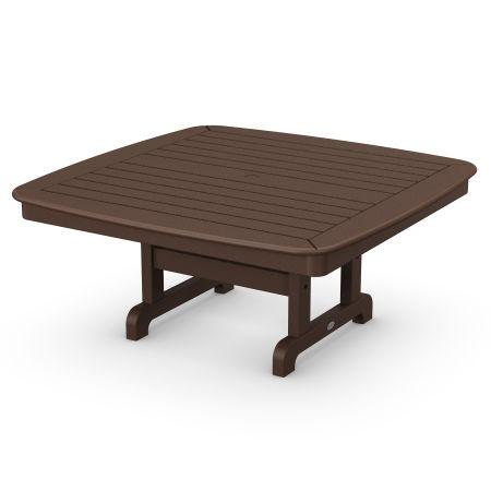 "Nautical 44"" Conversation Table in Mahogany"