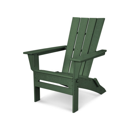 Quattro Folding Adirondack in Green