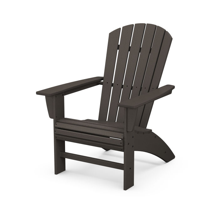 Nautical Curveback Adirondack Chair in Vintage Finish