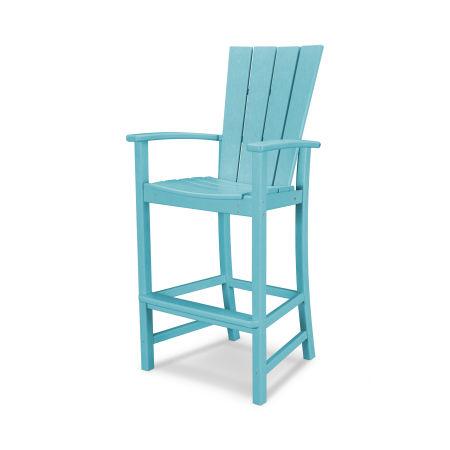 Quattro Adirondack Bar Chair in Aruba