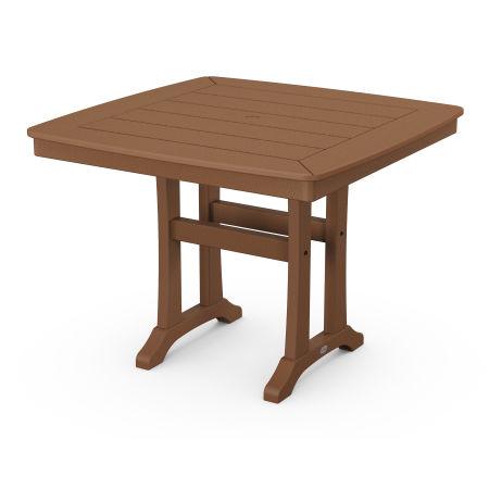 "37"" Dining Table in Teak"