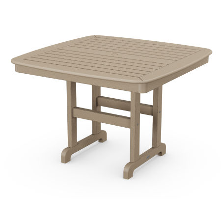 """Nautical 44"""" Dining Table in Vintage Sahara"""
