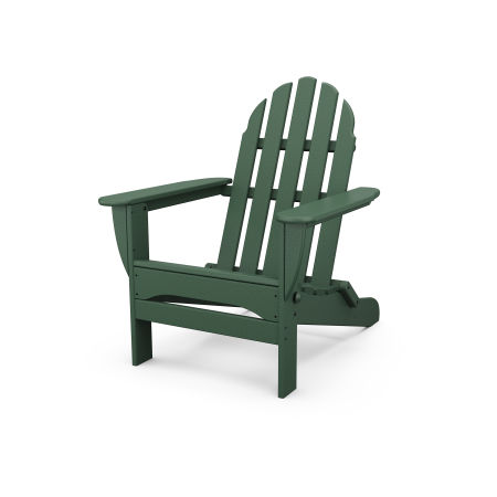Classic Folding Adirondack in Green