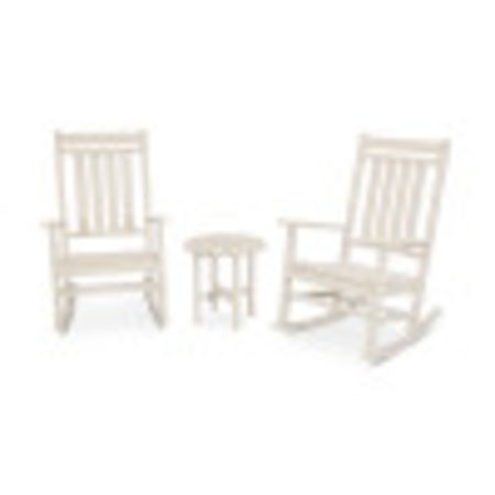 Estate 3-Piece Rocking Chair Set in Sand