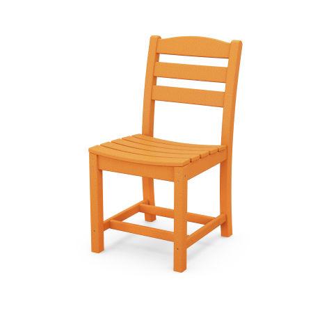 La Casa Café Dining Side Chair in Tangerine