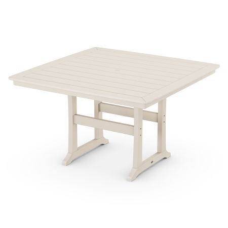 "Nautical Trestle 59"" Counter Table in Sand"
