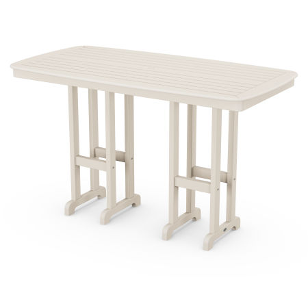 "Nautical 37"" x 72"" Bar Table in Sand"