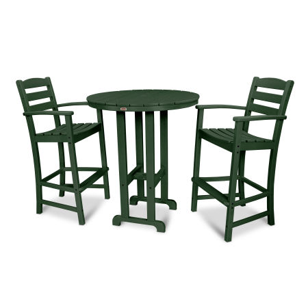 La Casa Café 3-Piece Bar Set in Green