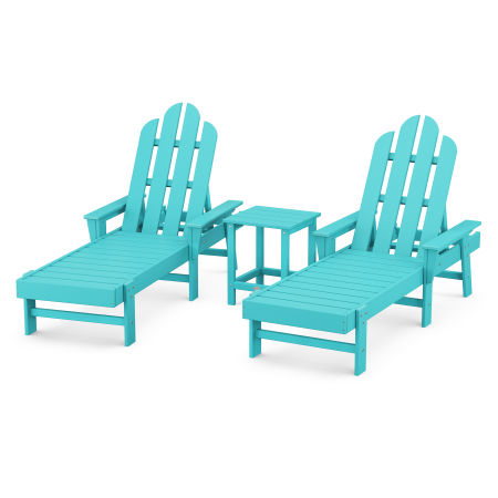 Long Island Chaise 3-Piece Set in Aruba