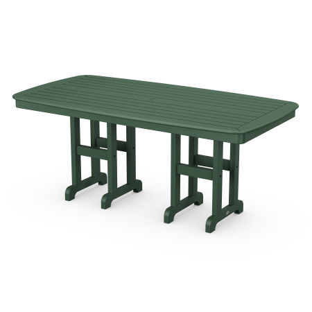 "Nautical 37"" x 72"" Dining Table in Green"