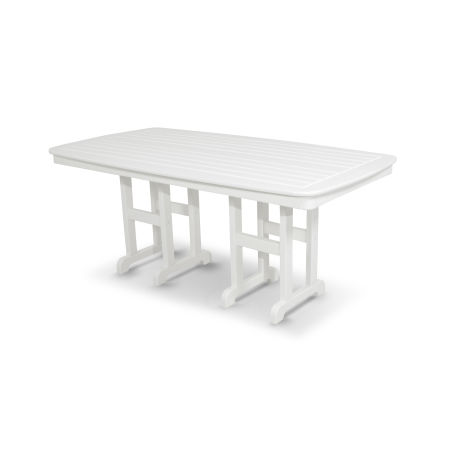 "Classics 37"" x 72"" Dining Table in White"