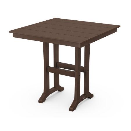 "37"" Counter Table in Mahogany"