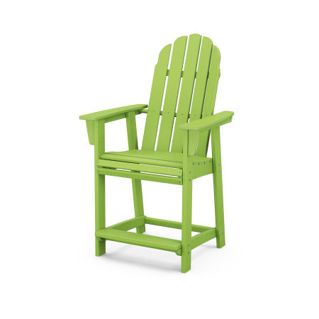 Vineyard Adirondack Counter Chair in Lime