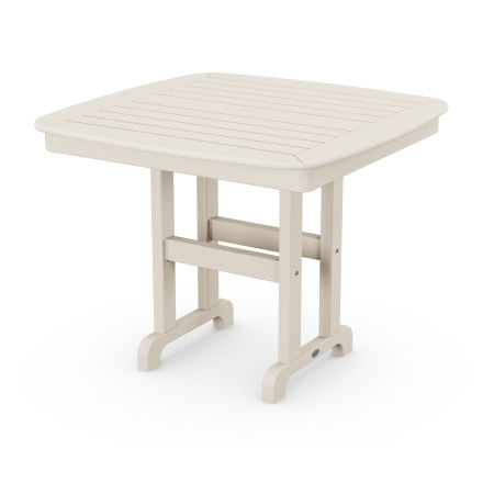 """Nautical 37"""" Dining Table in Sand"""