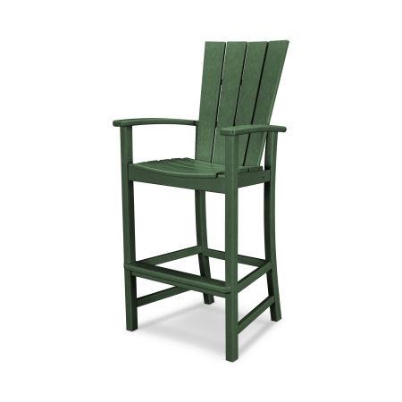 Quattro Adirondack Bar Chair in Green