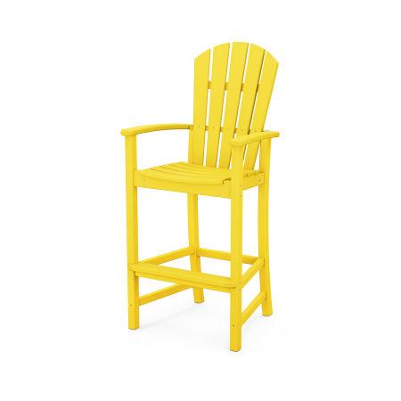 Palm Coast Bar Chair in Lemon
