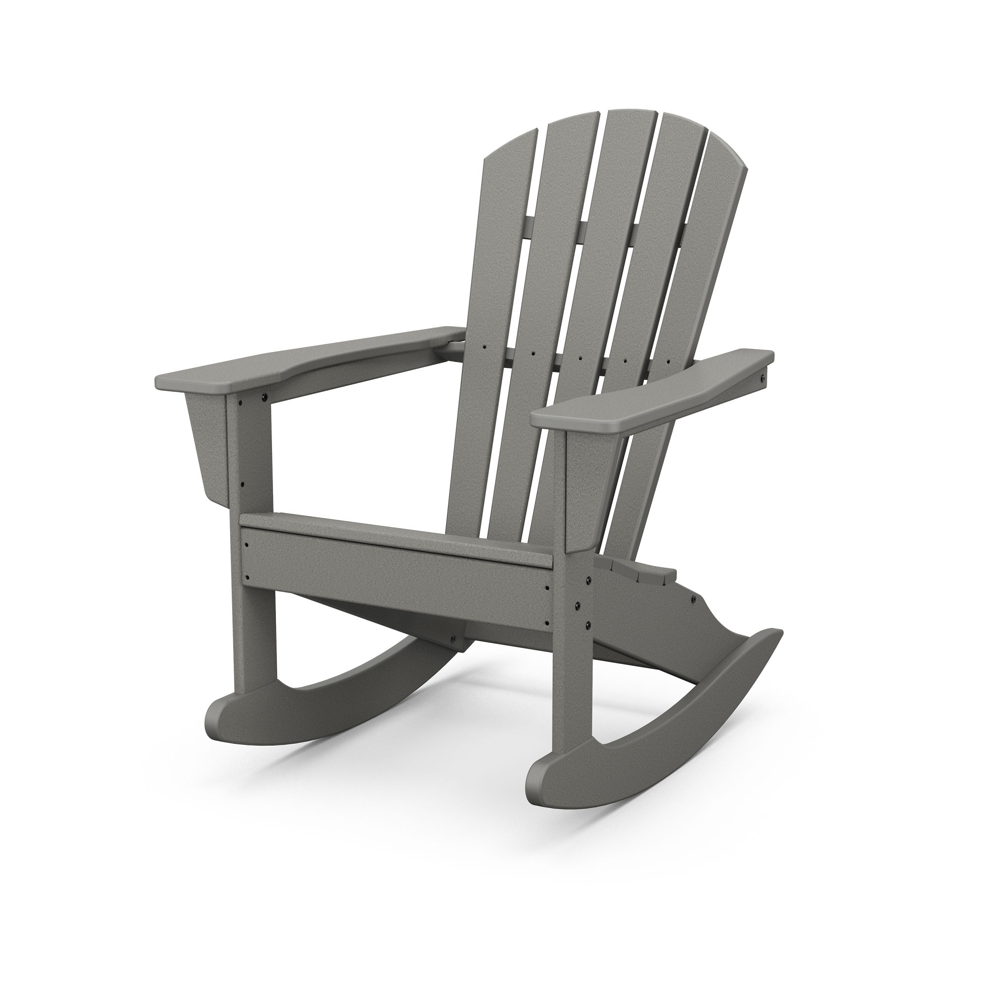 Polywood Palm Coast Adirondack Rocking Chair Hnr10 Polywood Official Store