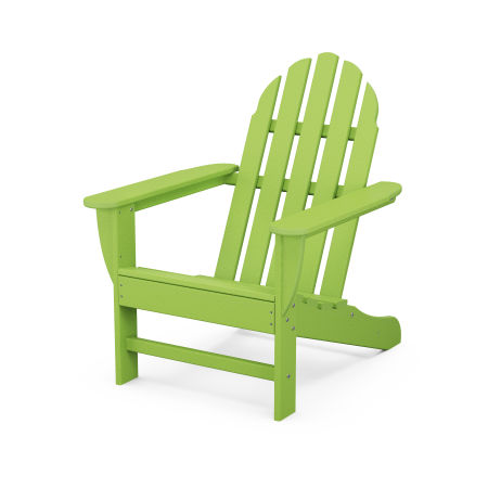 Classic Adirondack Chair in Lime