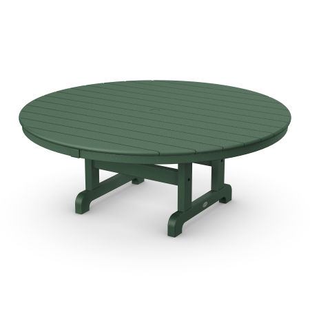 """Round 48"""" Conversation Table in Green"""
