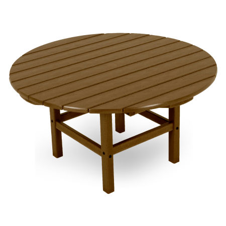 "Round 38"" Conversation Table by Ivy Terrace in Teak"