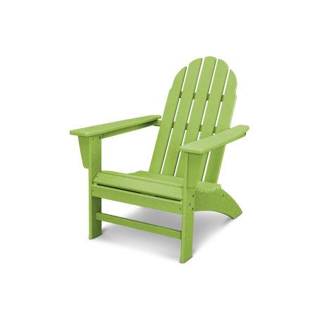 Vineyard Adirondack Chair in Vintage Lime
