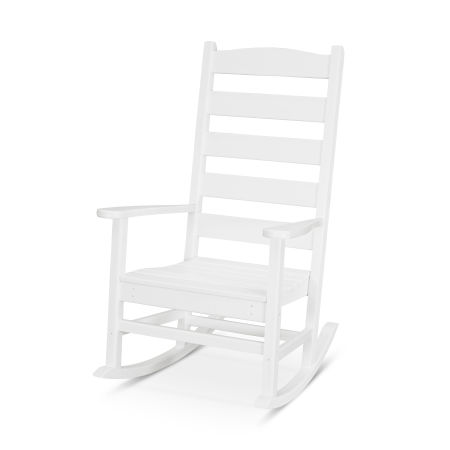 Shaker Porch Rocking Chair in White