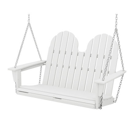 "Vineyard Adirondack 48"" Swing in White"