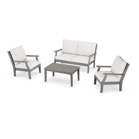 Braxton 4-Piece Deep Seating Chair Set