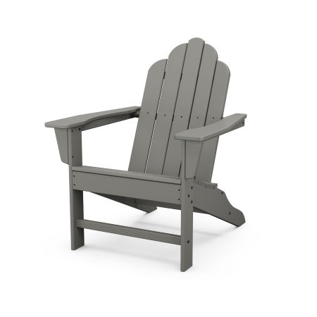Long Island Adirondack in Slate Grey