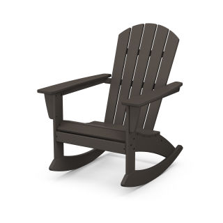 Nautical Adirondack Rocking Chair in Vintage Finish