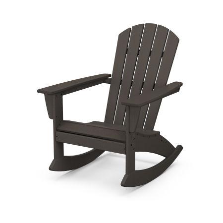 Nautical Adirondack Rocking Chair in Vintage Finish