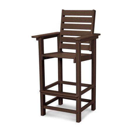 Captain Bar Chair in Mahogany