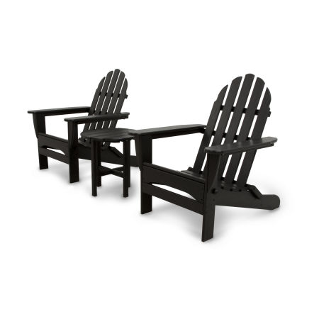 Classics 3-Piece Folding Adirondack Set