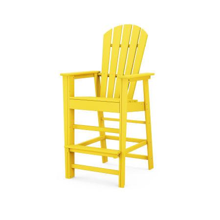 South Beach Bar Chair in Lemon