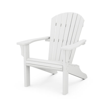 Seashell Adirondack in White